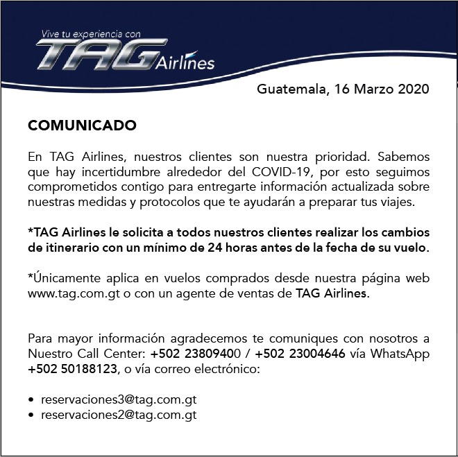 Comunicado de Honduras