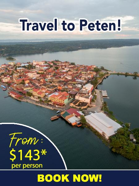 Flights to Peten